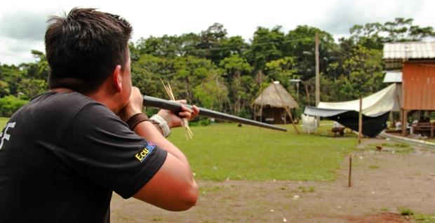 Ecuador blowgun_