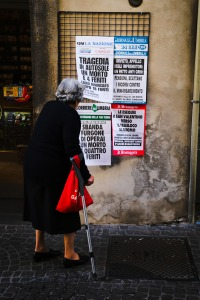 Italy Orvieto dire newspapers for adults