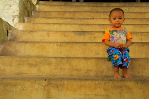 Mandalay temple stairs_