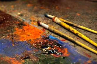 Choco's workshop paint