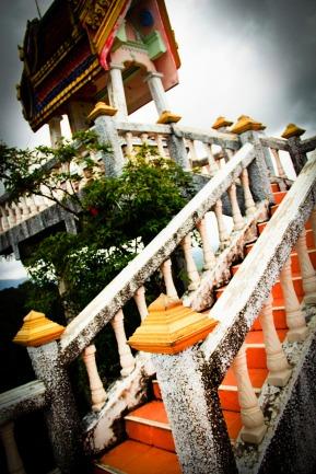 Tiger Temple top, Thailand