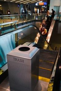 Vegas garbage escalator
