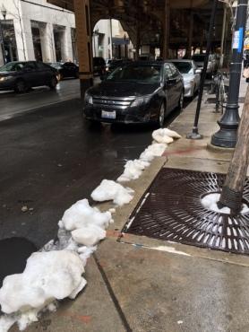 Chicago curb