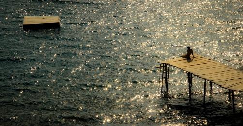 Laguna de Apoyo dock
