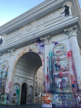 Triumphal Arch, let me get back to you on that