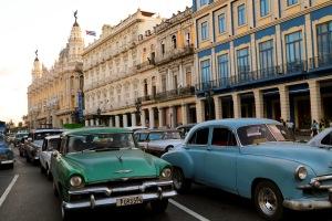 Cuba Havana traffic