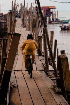 Malaysia dock bike