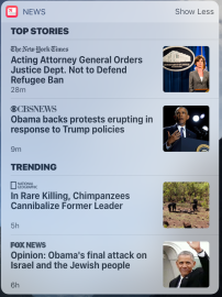 January 30 evening, Fox News wants to talk about Obama being...anti-Semitic? Even cannibal chimpanzees look civilized next to Fox.