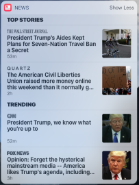 January 30 morning, Muslim ban, ACLU more vital than ever, but Fox News says everyone loves Trump