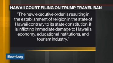 Hawaii challenges Muslim ban