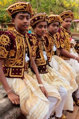 Sri Lankan kids at a wedding Anuradhapura