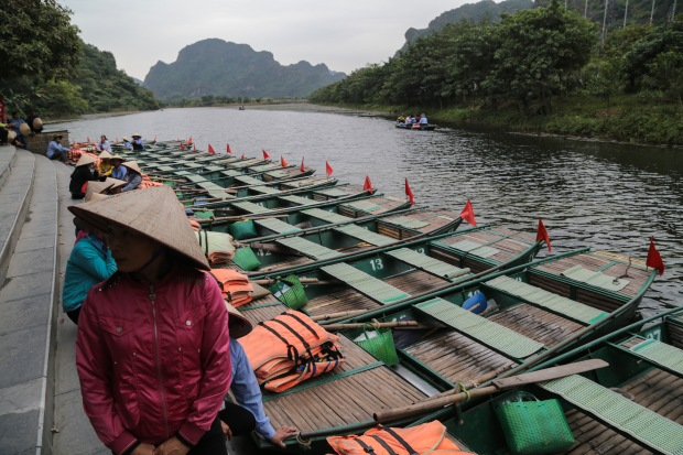 Tam Coc boats
