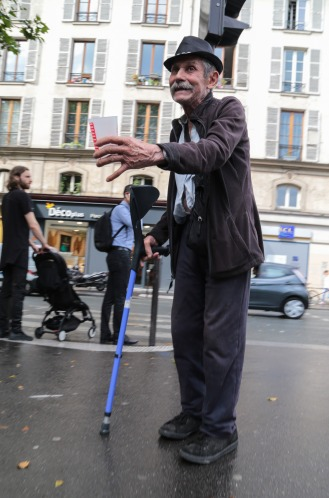 Paris street people
