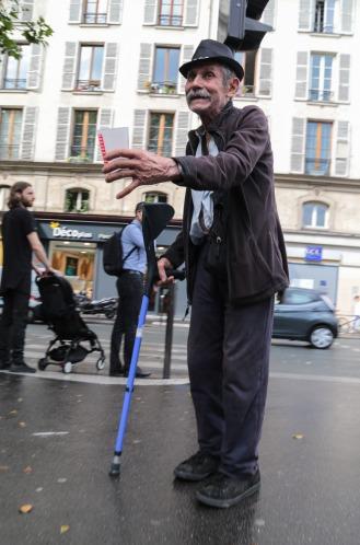 Paris street people
