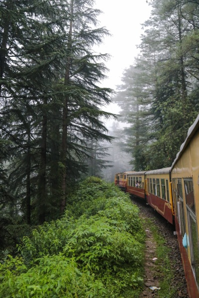 Train from Kalka to Shimla