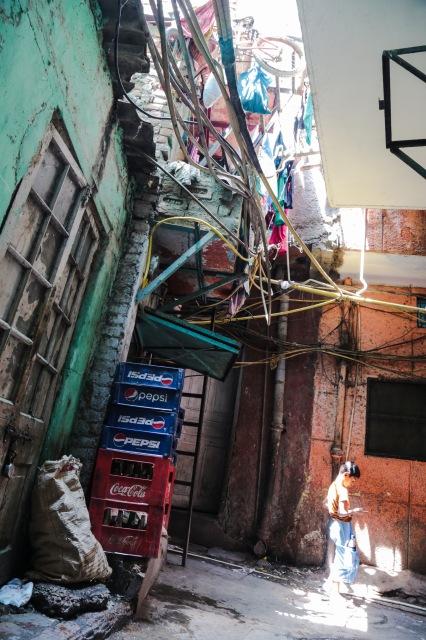 Indian alleyway