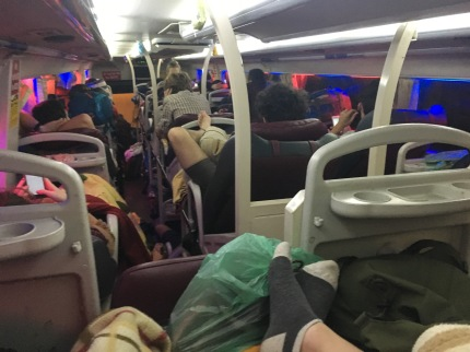 Vietnam tourist fart bus