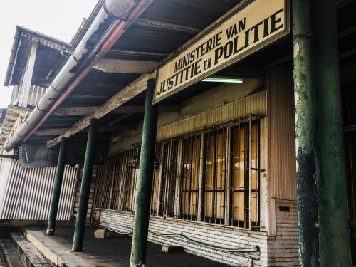 Suriname Ministerie van justitie en politie