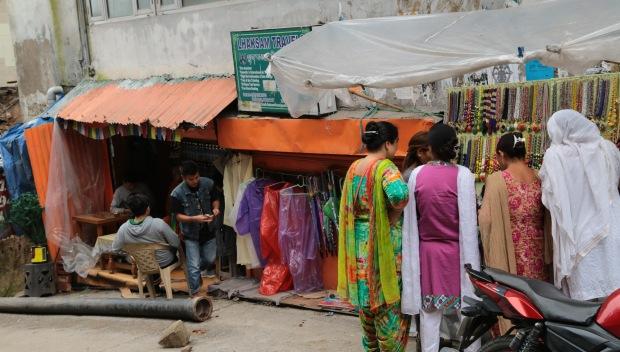 Dharamsala street shopping