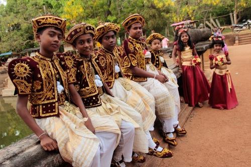 Sri Lankan wedding prep