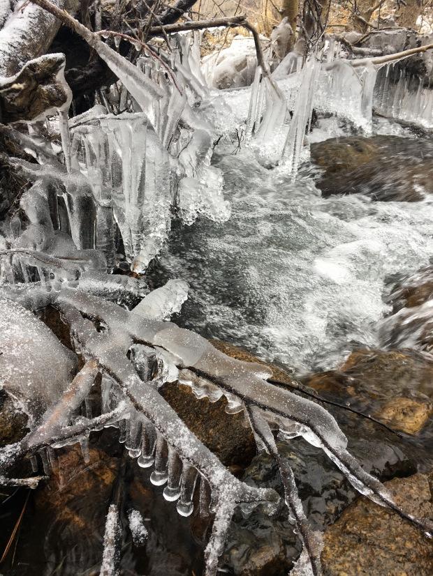 Mono Lake ice stream