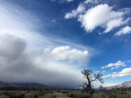 California desert sky