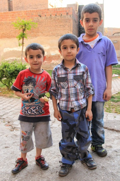 Turkey Diyarbakir kids