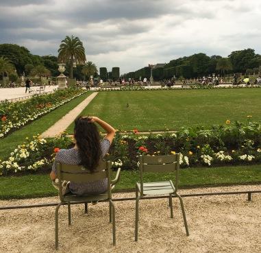 Paris, Luxembourg Garden, relaxing, France