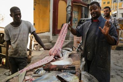 Mombasa fishmonger