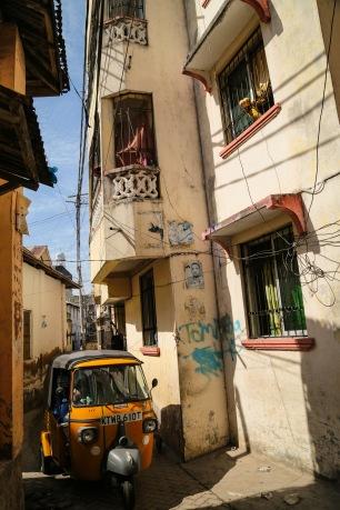 Mombasa Old Town street
