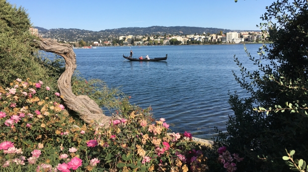 Gondola on Lake Merritt
