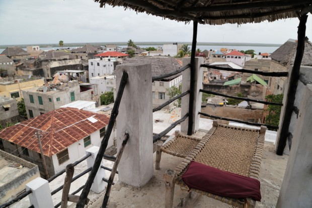 Lamu from above