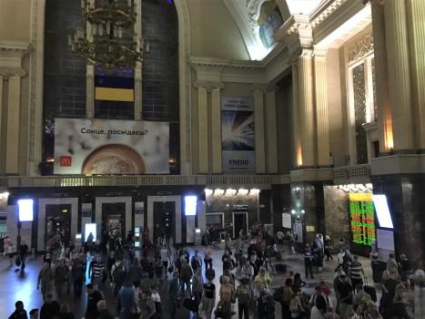Pasazhyrskyi station, Kiev