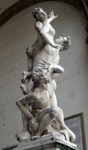 Giambologna's Rape of the Sabine Women